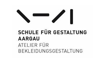 Schule für Gestaltung Aargau, Atelier für Bekleidungsgestaltung logo