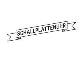Schallplattenuhr.ch Logo