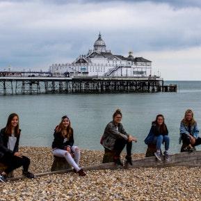 Ein paar Eindrucke von Eastbourne (GB) bzw. Lausanne - Unterricht und Gastfamilie