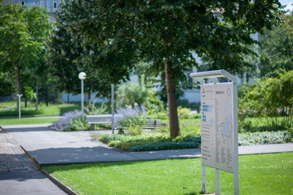 Park und Umgebung