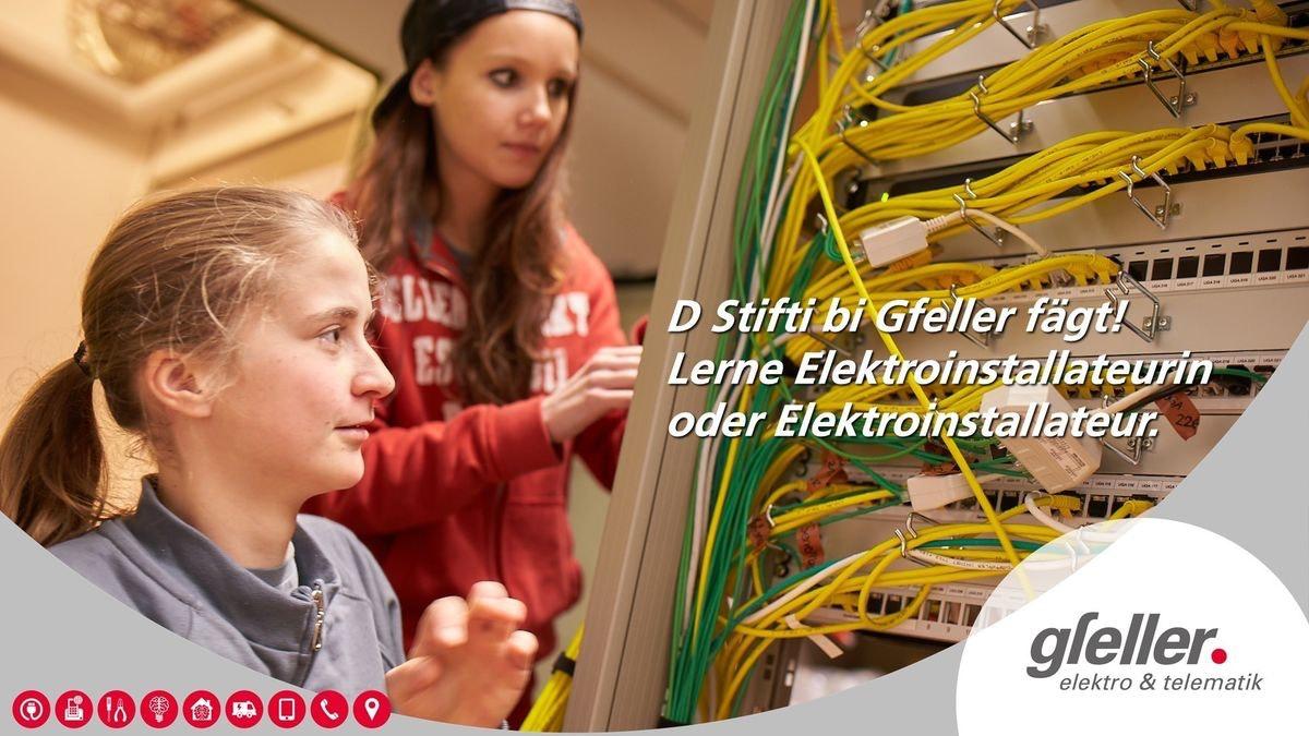 Gfeller Elektro AG - Unsere Lernenden