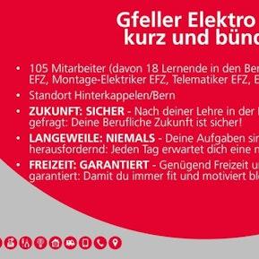 Gfeller Elektro AG - Unser Unternehmen