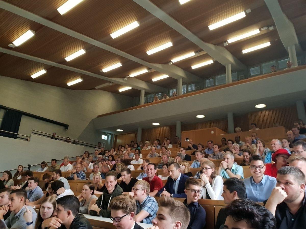 Lehrabschlussfeier LMT und LMT in Wädenswil 2018