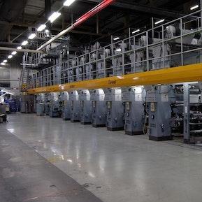 Tiefdruckmaschine