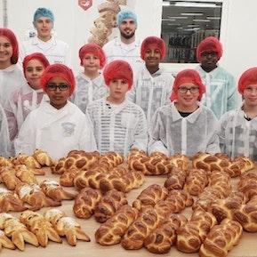 Nationaler Zukunftstag bei Aryzta Bakeries Schweiz Ag in Dagmersellen