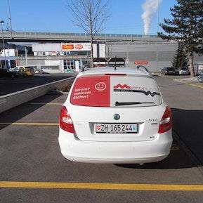Das neue Design unserer Firmenautos - Melcom AG