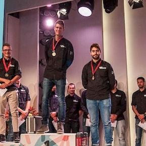 Goldmedaillen-Gewinner an den Schweizer Meisterschaften in Gebäudetechnik