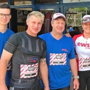 EWS-Team am StrongmanRun