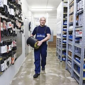 Einblicke in den Beruf Detailhandelsfachmann/-frau Autoteile-Logistik