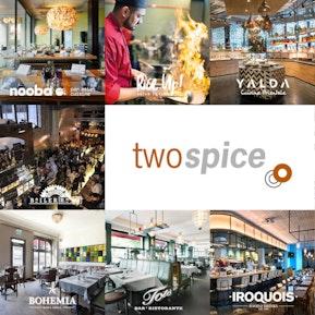 Die Restaurantspalette der Two Spice AG