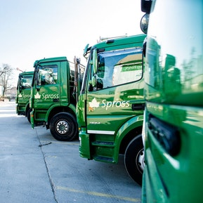 Einblicke in die Abteilung Transport & Entsorgung