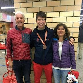 Loris Glauser wurde Bronzemedaillengewinner als Gipser-Trockenbauer an den WorldSkills 2019