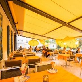Eindrücke der Restaurants & der Sonnenterrasse!