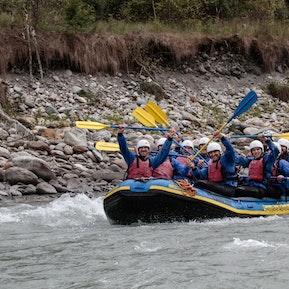 River-Rafting Vorderrhein 2018