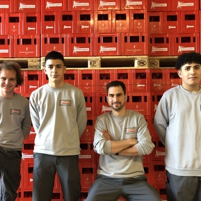 Das Logistik-Team