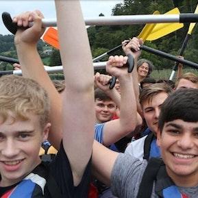 Spass im Lernenden-Camp