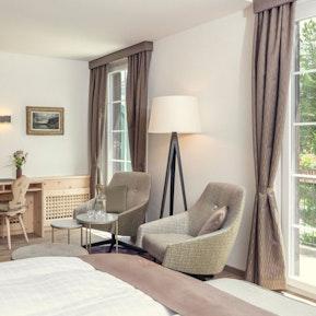 Parkhotel Margna - unsere Hotelzimmer und Räumlichkeiten