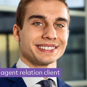 apprenti agent relation client