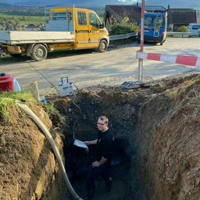 Neue Trinkwasserleitung