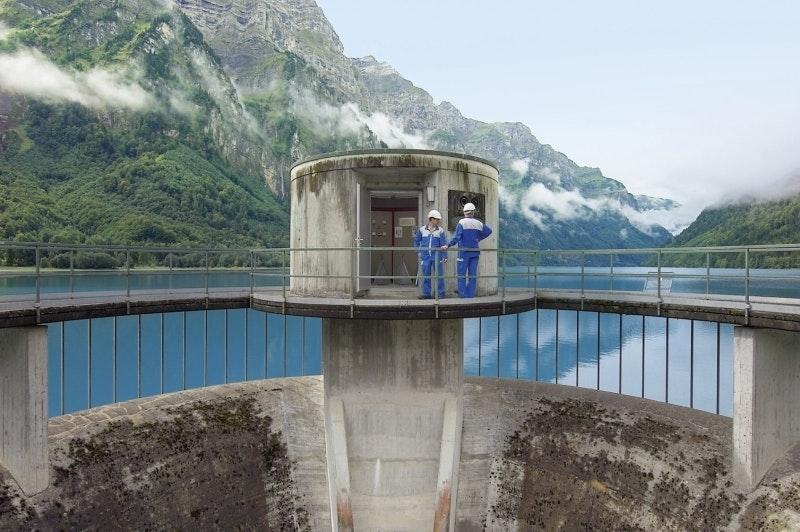 KWL, Klöntalersee, Hochwasserentlastung