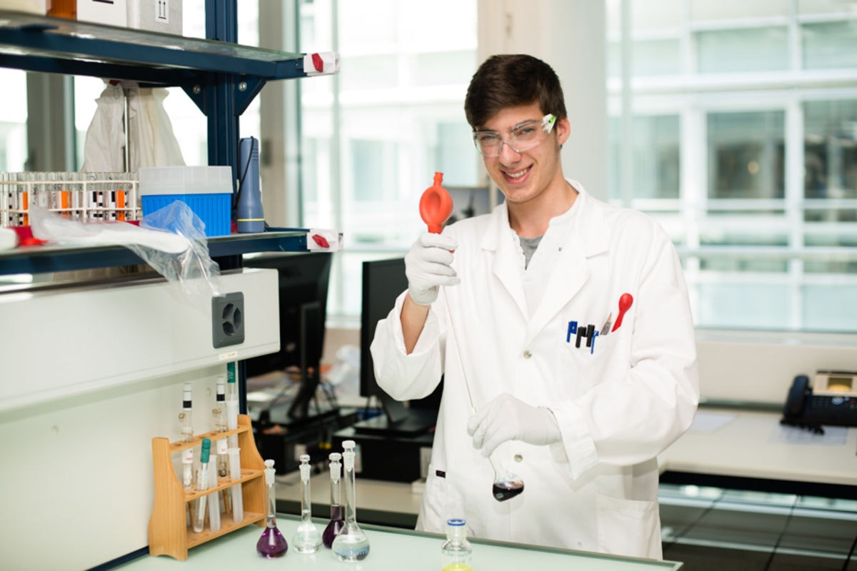 Laborant/in (Chemie) EFZ