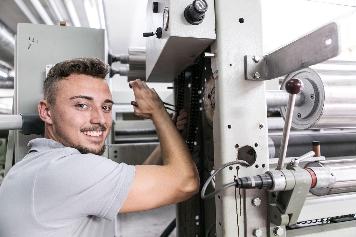 Textiltechnologe/-in EFZ Mechatronik