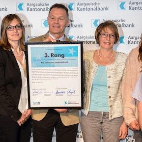 Wir sind innovativ - Aargauischer Unternehmerpreis 2015