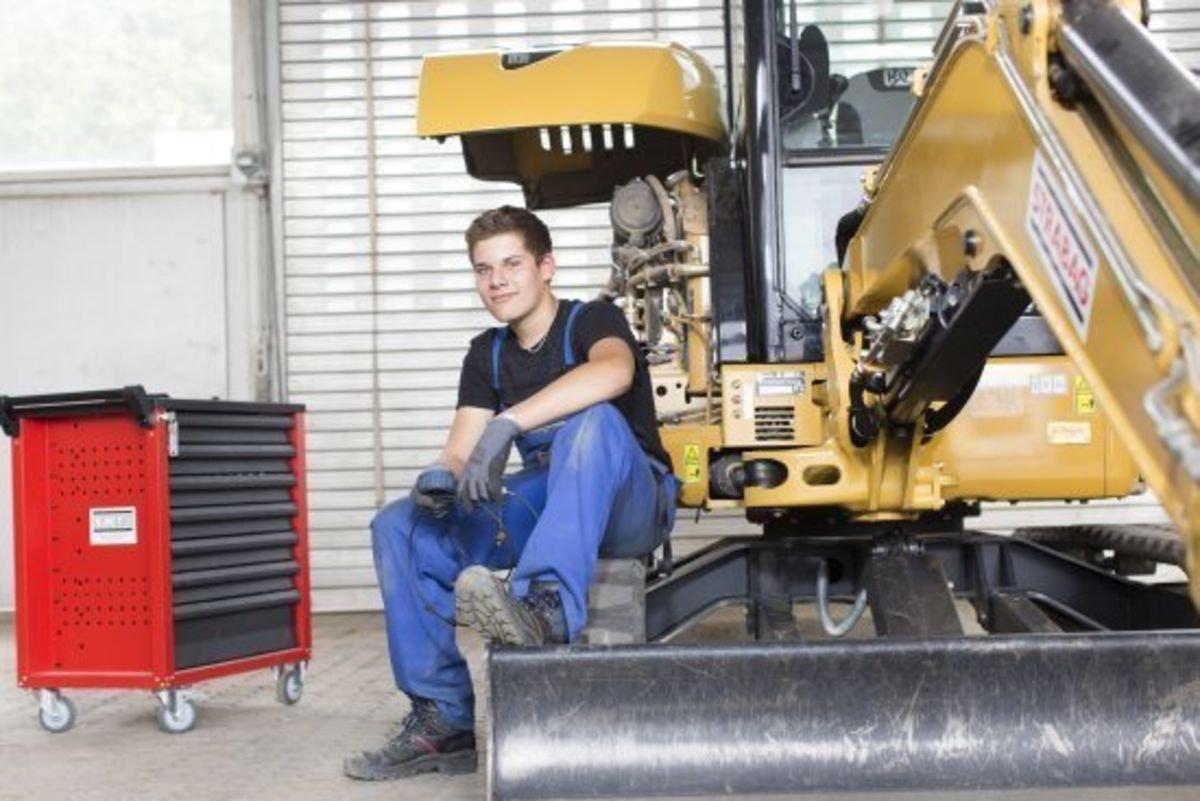 Deine Lehre als Baumaschinenmechaniker/in EFZ