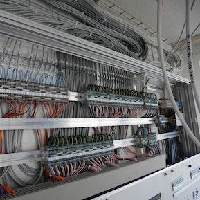 Arbeiten eines Elektroinstallteurs EFZ