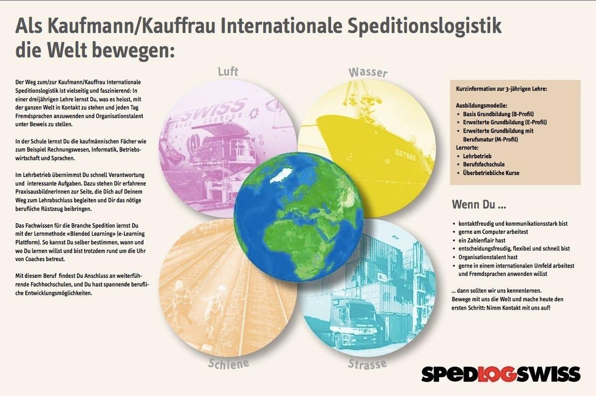 Als Kaufmann/Kauffrau Internationale Speditionslogistik die Welt bewegen