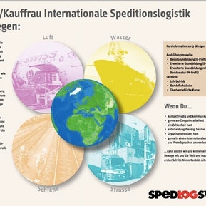 Als Kaufmann/Kauffrau Internationale Speditionslogistik die Welt bewegen